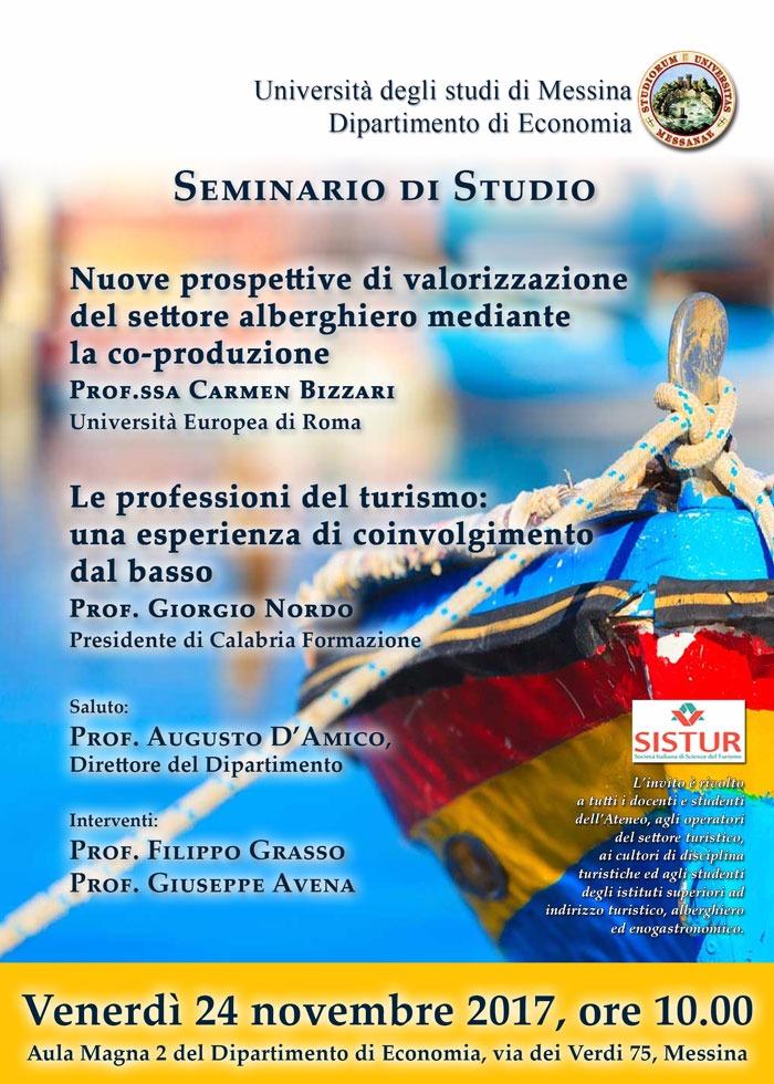 Seminario Università di Messina 24 novembre 2017